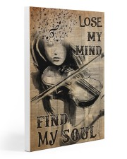 Lose mind violin dvhd-NTH 20x30 Gallery Wrapped Canvas Prints thumbnail
