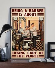 Barber taking care 24x36 Poster lifestyle-poster-2
