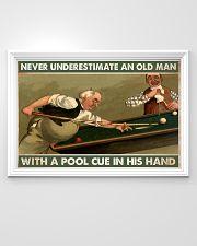 Carom billiard old man pt dvhh-ntv 36x24 Poster poster-landscape-36x24-lifestyle-02