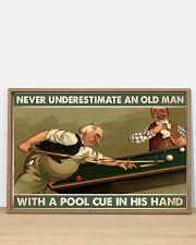 Carom billiard old man pt dvhh-ntv 36x24 Poster poster-landscape-36x24-lifestyle-03