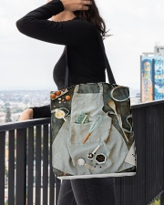 Bake apron tote All-over Tote aos-all-over-tote-lifestyle-front-05