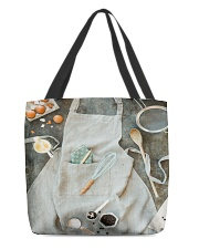 Bake apron tote All-over Tote back