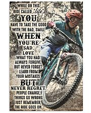 MTB ride go on dvhd-ntv 11x17 Poster front