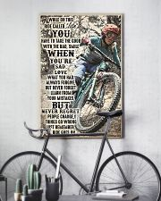MTB ride go on dvhd-ntv 11x17 Poster lifestyle-poster-7