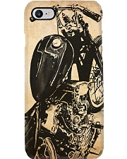 Motorcycle sketch case dvhd Phone Case i-phone-8-case