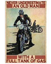 Old man full tank dvhd-ntv 11x17 Poster front