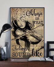 Violin music feeling dvhd-pml 16x24 Poster lifestyle-poster-2