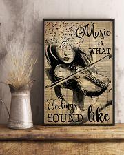 Violin music feeling dvhd-pml 16x24 Poster lifestyle-poster-3