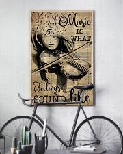 Violin music feeling dvhd-pml 16x24 Poster lifestyle-poster-7