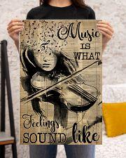 Violin music feeling dvhd-pml 16x24 Poster poster-portrait-16x24-lifestyle-18