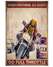 Nothing right motorcycle dvhd-ngt 11x17 Poster front