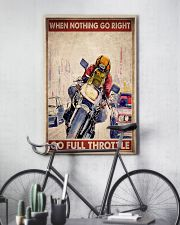Nothing right motorcycle dvhd-ngt 11x17 Poster lifestyle-poster-7