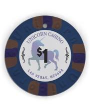 DA VNCI Unicorn chips ornaments ttb-ntv1 7 Circle Ornament (Wood tile