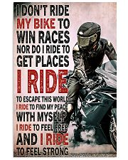Feel strong motorcycle dvhd-NTH 11x17 Poster front