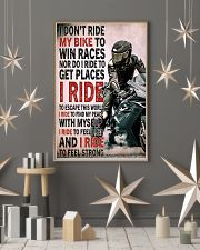 Feel strong motorcycle dvhd-NTH 11x17 Poster lifestyle-holiday-poster-1