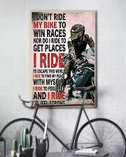 Feel strong motorcycle dvhd-NTH 11x17 Poster lifestyle-poster-7