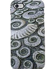 Fossil ammonite dvhd-ntv Phone Case i-phone-8-case