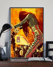 Bike girl enough 11x17 Poster lifestyle-poster-2