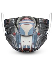 Scooter case dvhd 2 Layer Face Mask - Single thumbnail