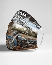 Biker stop done Cloth Face Mask - 3 Pack aos-face-mask-lifestyle-21