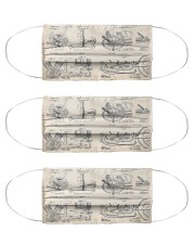 Engine patent mas Cloth Face Mask - 3 Pack front