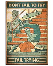 Skate fail 11x17 Poster front