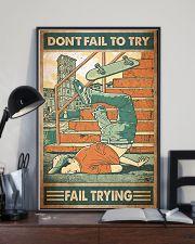 Skate fail 11x17 Poster lifestyle-poster-2