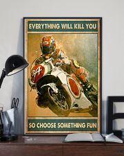 Choose fun sportbike 11x17 Poster lifestyle-poster-2