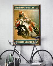Choose fun sportbike 11x17 Poster lifestyle-poster-7