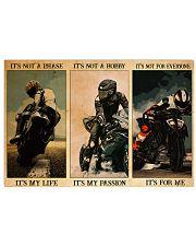 pasion sportbike dvhd ntv 17x11 Poster front