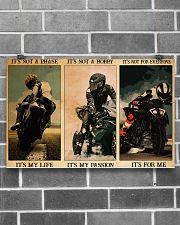 pasion sportbike dvhd ntv 17x11 Poster poster-landscape-17x11-lifestyle-18