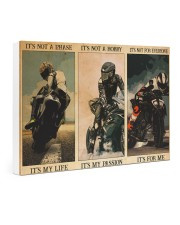 pasion sportbike dvhd ntv Gallery Wrapped Canvas Prints tile