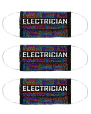 Electrician typo mas Cloth Face Mask - 3 Pack front