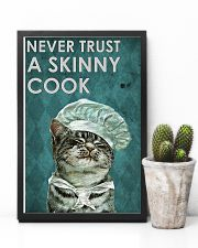 Never trust chef 11x17 Poster lifestyle-poster-8