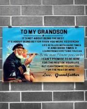 sea captain sailor to my grandson poster ttb nth 24x16 Poster aos-poster-landscape-24x16-lifestyle-19