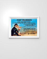 sea captain sailor to my grandson poster ttb nth 24x16 Poster poster-landscape-24x16-lifestyle-02