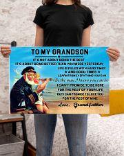 sea captain sailor to my grandson poster ttb nth 24x16 Poster poster-landscape-24x16-lifestyle-20