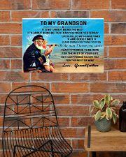 sea captain sailor to my grandson poster ttb nth 24x16 Poster poster-landscape-24x16-lifestyle-24