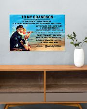 sea captain sailor to my grandson poster ttb nth 24x16 Poster poster-landscape-24x16-lifestyle-25