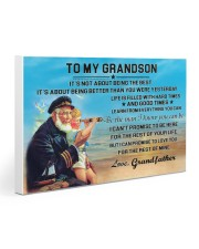 sea captain sailor to my grandson poster ttb nth 30x20 Gallery Wrapped Canvas Prints thumbnail