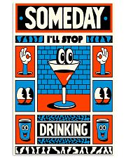 Stop drinking 11x17 Poster front
