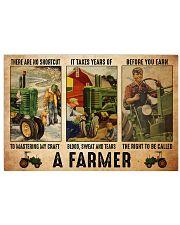 Farmer shortcut dvhd-ntv 36x24 Poster front