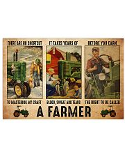 Farmer shortcut dvhd-ntv Horizontal Poster tile