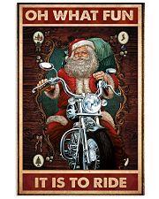 Santa fun ride dvhd 11x17 Poster front