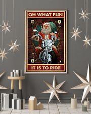 Santa fun ride dvhd 11x17 Poster lifestyle-holiday-poster-1