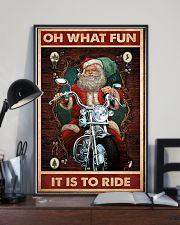 Santa fun ride dvhd 11x17 Poster lifestyle-poster-2