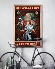Santa fun ride dvhd 11x17 Poster lifestyle-poster-7