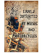 music motorcycle dvhd PML 11x17 Poster front