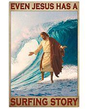 Jesus surfing pml 11x17 Poster front