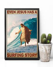 Jesus surfing pml 11x17 Poster lifestyle-poster-8